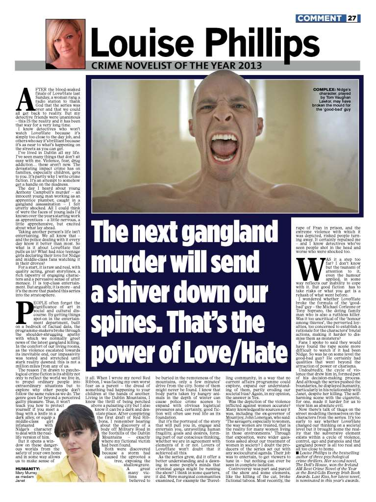 Article LoveHate
